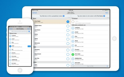Introducing Sales Navigator for iOS Spreadsheet Import: Add data from any device.