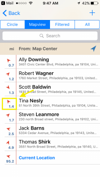 mapview list