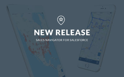 Sales Navigator for Salesforce 7.5 Release – Improve Your Route Planning